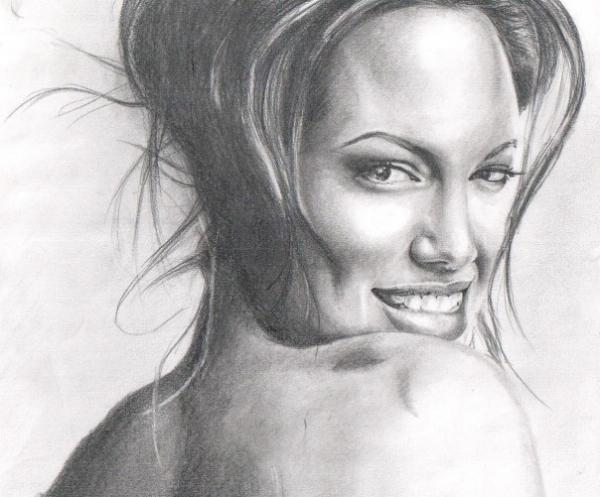 Angelina Jolie by Nadezhda